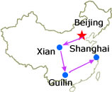 Beijing Xian Guilin Shanghai Incentive 10-Day Tour