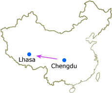 Chengdu Lhasa 7 Days Private Tour