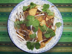 Stir Fried Beef with Winter Bamboo Root