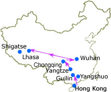 Yangtze & Tibet Adventure Tour