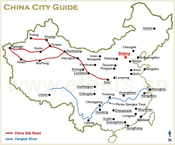 China City Guide China Etours Travel Service