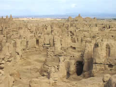 the Jiaohe Ruins